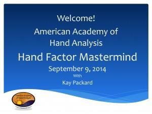 AAHA Mastermind September 2014