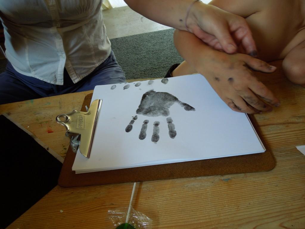 Finn handprint 2013